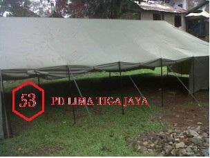 jual tenda pleton murah bandung , pusat tenda murah di bandung