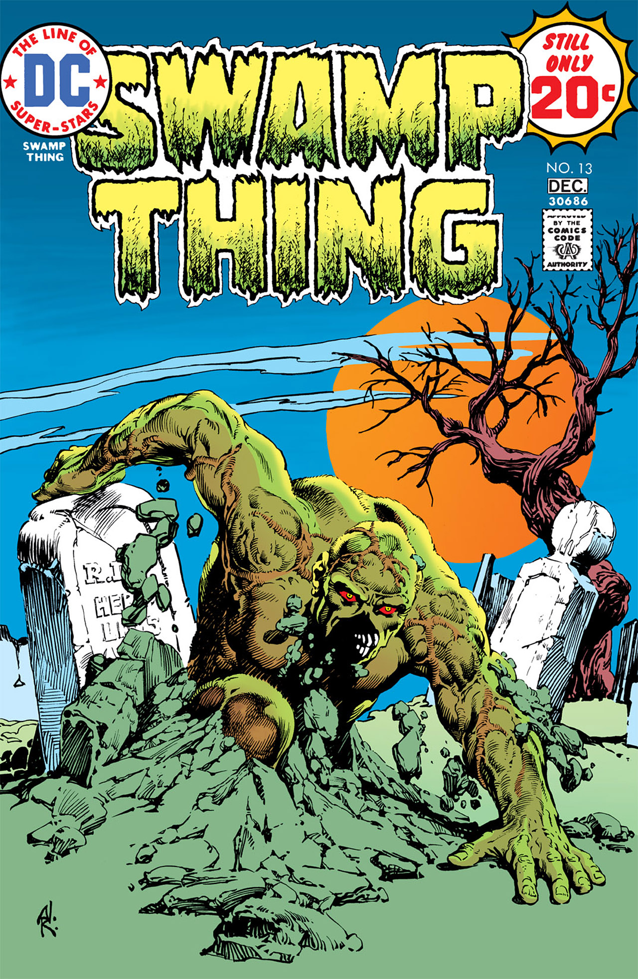 Swamp Thing (1972) issue 13 - Page 1