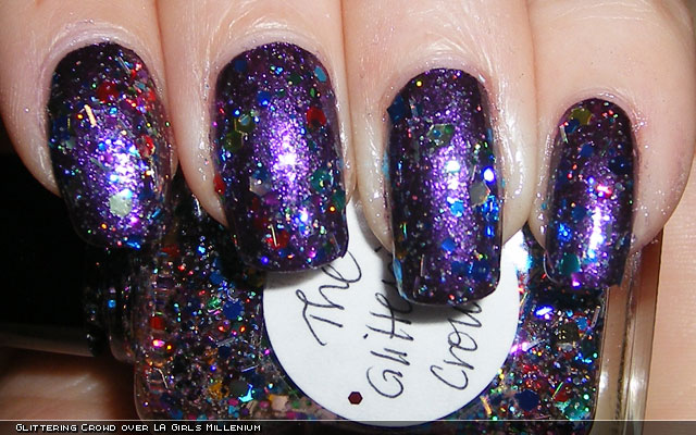 xoxoJen's swatch of Lynnderella Glittering Crowd