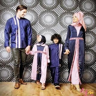 baju lebaran couple keluarga