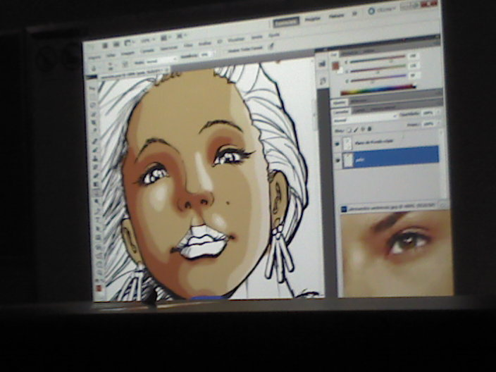 pintura digital photoshop iv gamepad