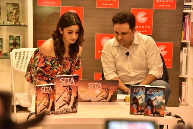 Amish and Alia Bhatt Launch the Trailer of Sita - Warrior of Mithila