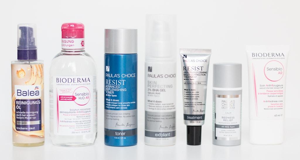 Rosazea Erfahrungsbericht Tipps Hautpflege Abendroutine