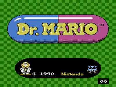 街機:瑪莉歐醫生(Dr. Mario)+作弊金手指,類似俄羅斯方塊益智遊戲!