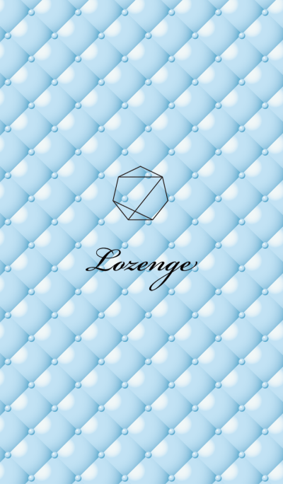 Lozenge-Blue