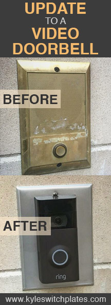 Excellent Kyle Switch Plates: Updating Your Old Doorbell to Ring 2 - DIY  YD89