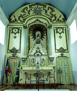 Altar da Igreja de Santo Amaro, General Câmara