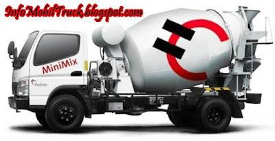 Gambar truk molen yang besar milik pabrik semen indonesia