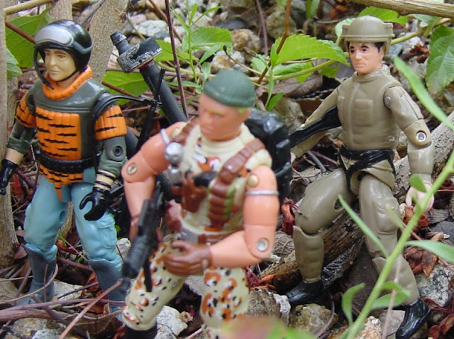Sokerk, Plastirama, Argentina, Tiger Force Sneek Peek, European Exclusive, Unproduced Caucasian Desert Stalker, Midnight Chinese, Rare G.I. Joe Figures, Ripcord