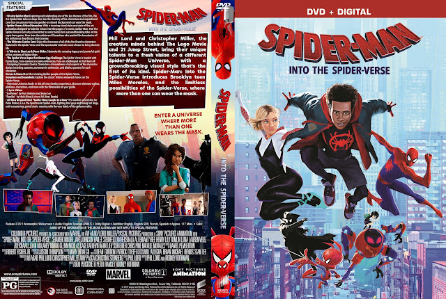 Spider-Man: Into the Spider-Verse DVD Cover