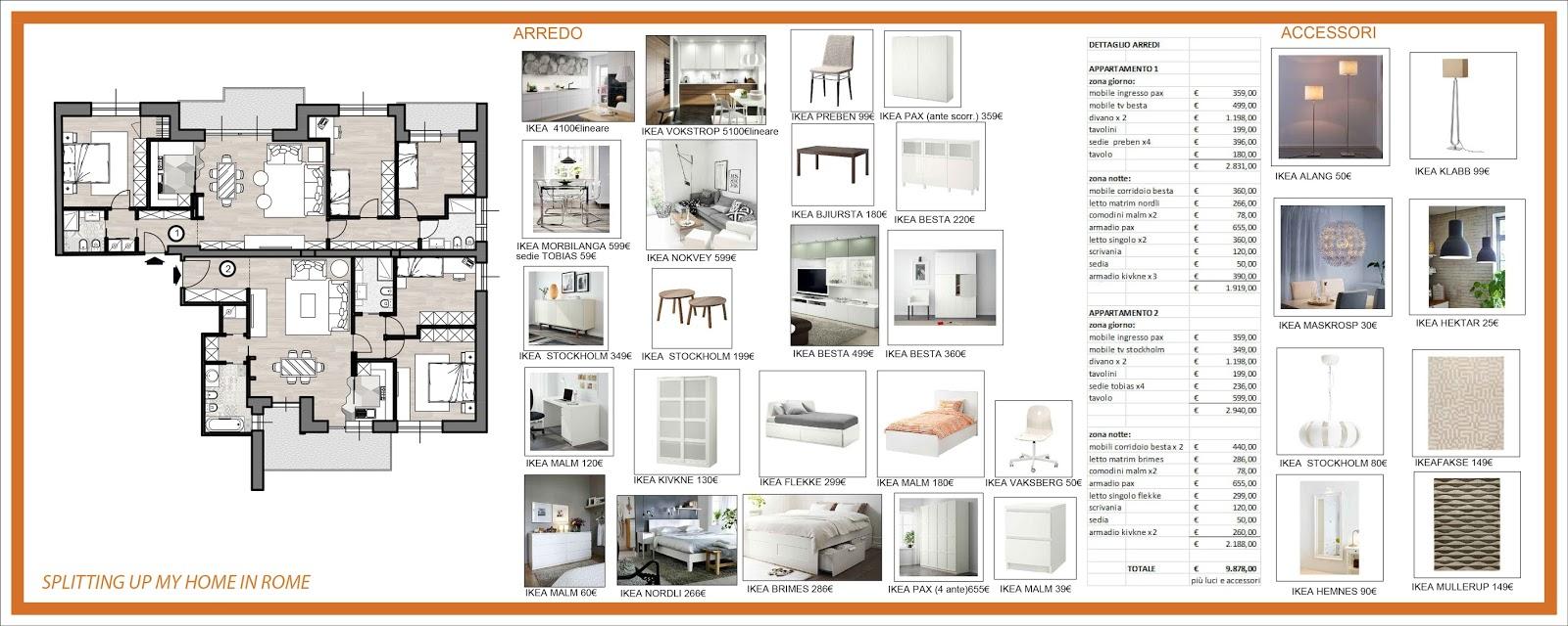 Arredamento e dintorni i miei progetti for Progetti di ristrutturazione appartamenti