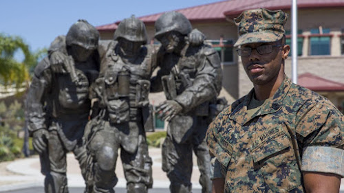 Marine battling keratoconus sees the world through new eyes