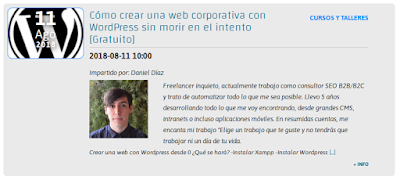 Cómo crear una web corporativa con WordPress sin morir en el intento