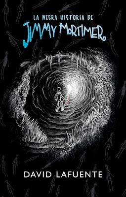 LA NEGRA HISTORIA DE JIMMY MORTIMER. David Lafuente (Montena - 18 Mayo 2017) | NOVELA JUVENIL - LITERATURA portada libro