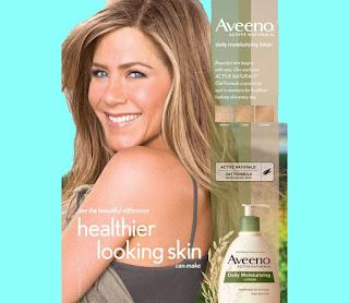 jenniefer aniston global brand ambassador of Avvero body lotion products