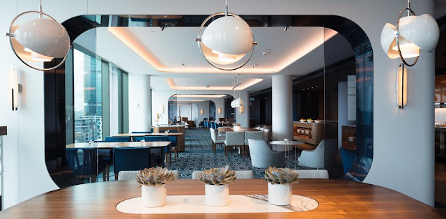 Regency Club Lounge, Hyatt Regency Sydney.