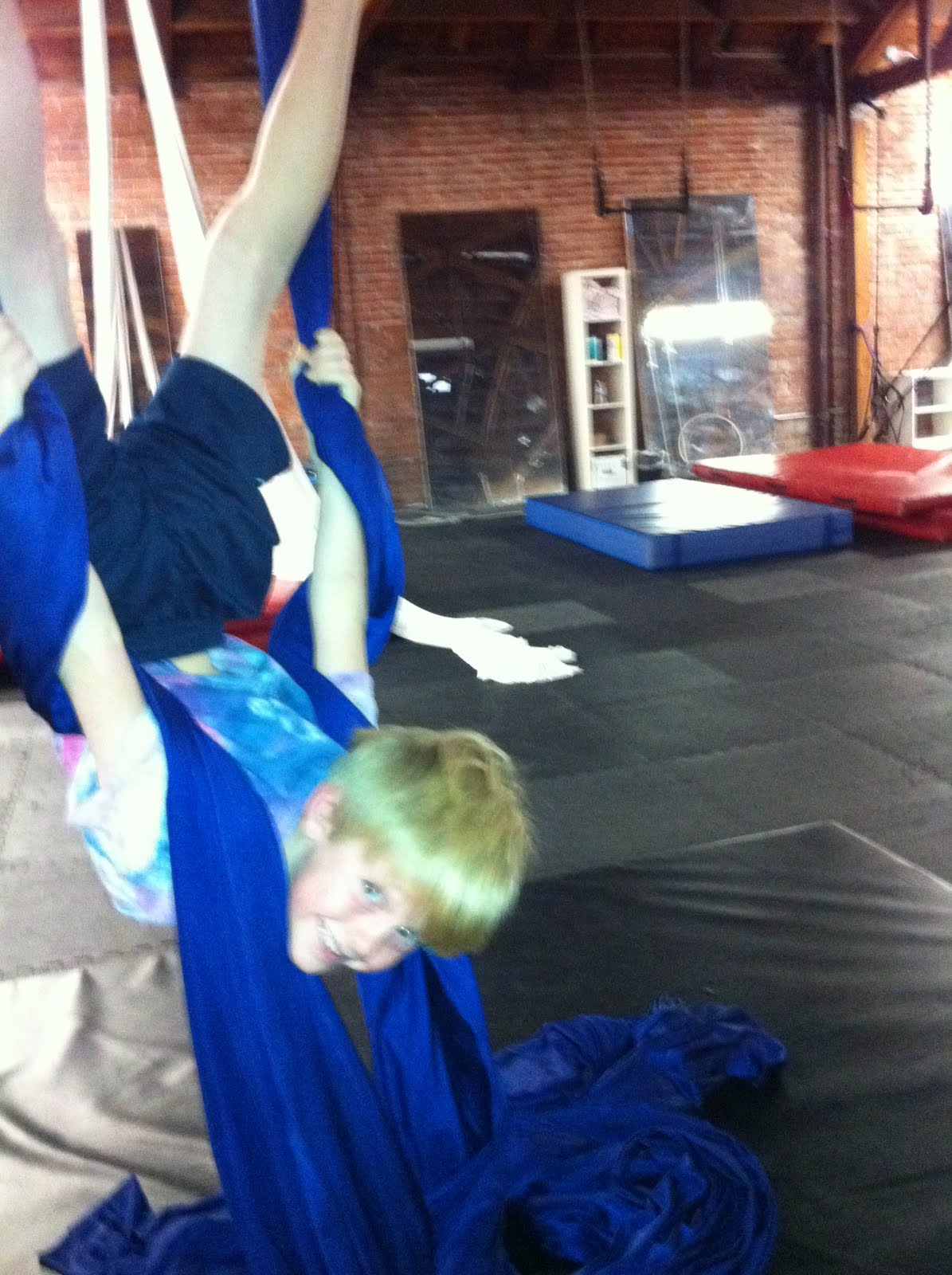 Tied Upside Down