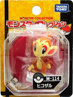 Chimchar Pokemon Figure Takara Tomy Monster Collection M series