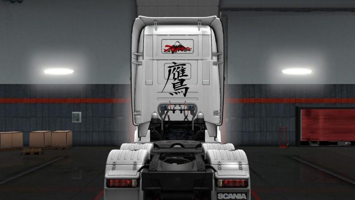 Hawk Suiboku Skin for Scania R