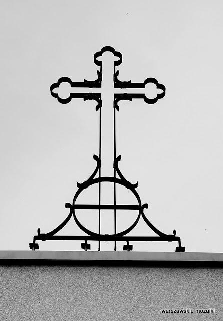 Warszawa Warsaw klasztor karmelitów bosych kaplica architektura Mokotów