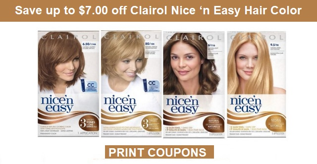 CVS Couponers: New Clairol Nice \'n Easy Hair Color Coupons & Deal at ...