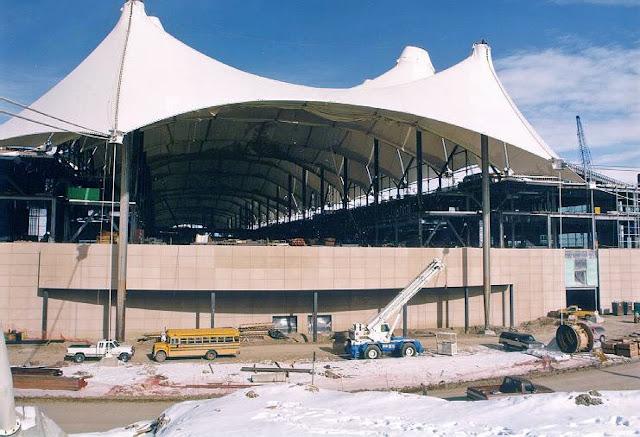 tenda membrane project pengerjaan
