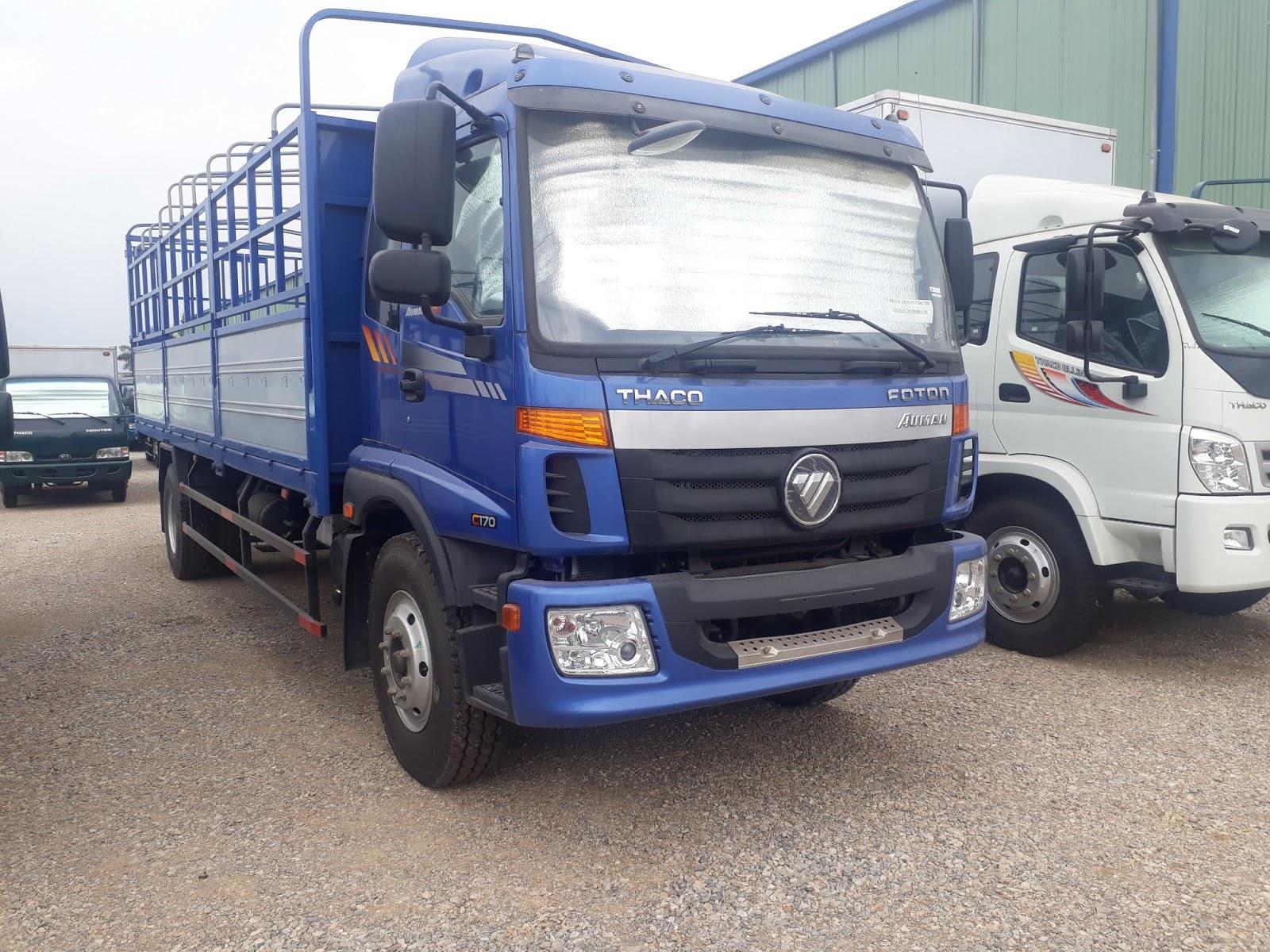 giá bán xe tải 9 tấn mui bạt tại hải phòng