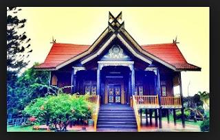 Desain Bentuk Rumah Adat Orang Jambi dan Filosofi serta Penjelasannya