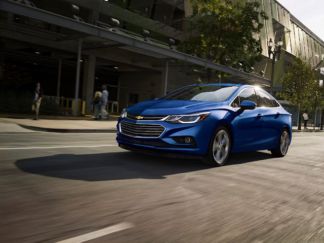 The 2016 Chevrolet Cruze Offers It All