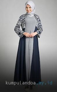 Model Baju Muslim Wanita Lebaran Terbaru 2017