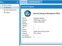 http://pdun.data.kemdikbud.go.id Alamat Web Pendataan Peserta UN
