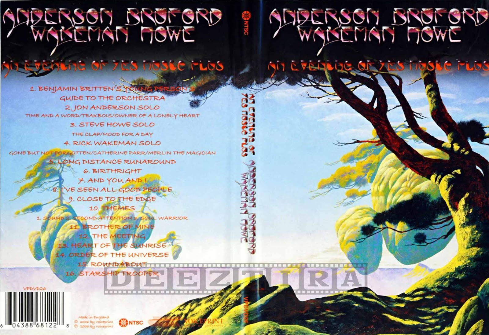 YOUDISCOLL: ABWH (Anderson Bruford Wakeman Howe)