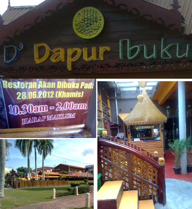 The Newly Opened Restaurant D Dapur Ibuku At My Mother S Kitchen