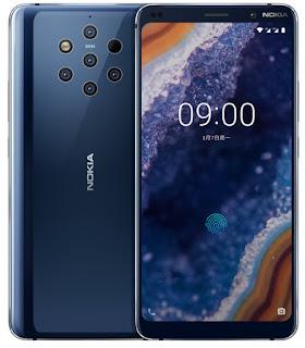 نوكيا تعلن ن هاتفها  Android One Nokia 9   المزود بخمس 5  كاميرات خلفية