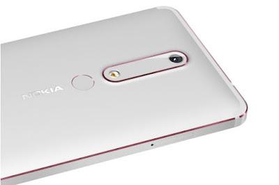 Gambar Belakang Nokia 6 2018