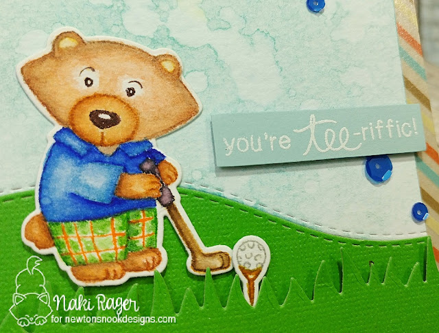 Newton's Nook Designs Winston's Tee Time Set - Naki Rager