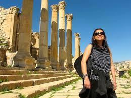 street of columns roman jerash