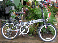 C 20 Inch Element Police Folding Bike