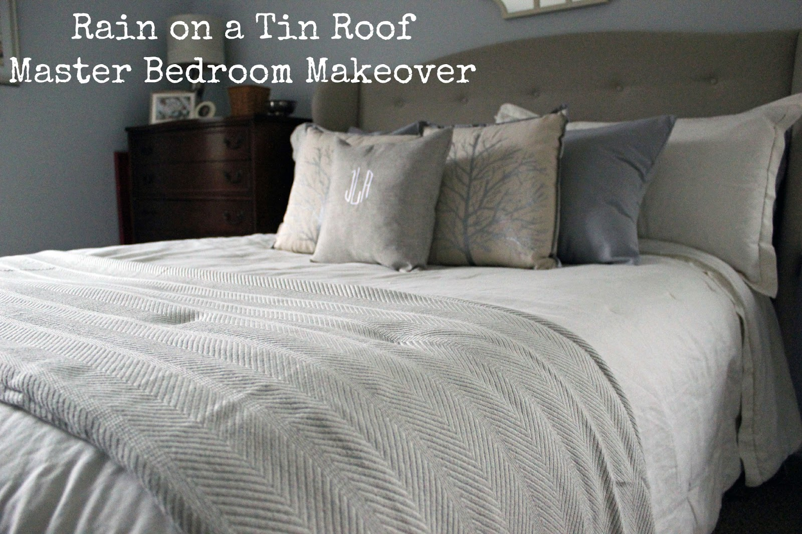 Master Bedroom Makeover Series Bedding