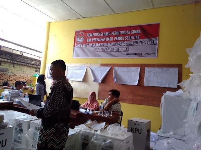 Pasangan Prabowo-Sandi Masih Unggul di Kota Padangsidimpuan