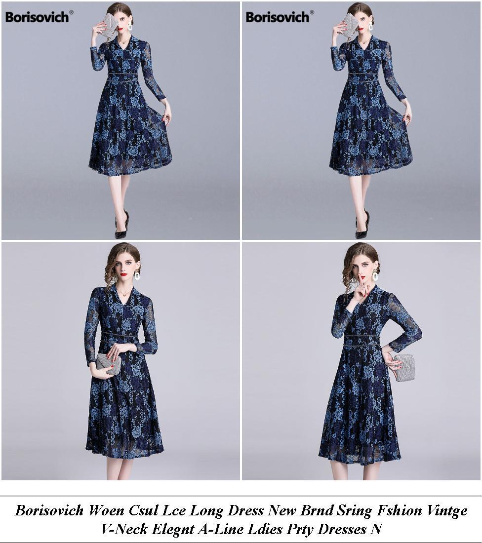 White Summer Dress Uy - Ay Clothing Clearance Sale - Knee Length Formal Dresses Australia