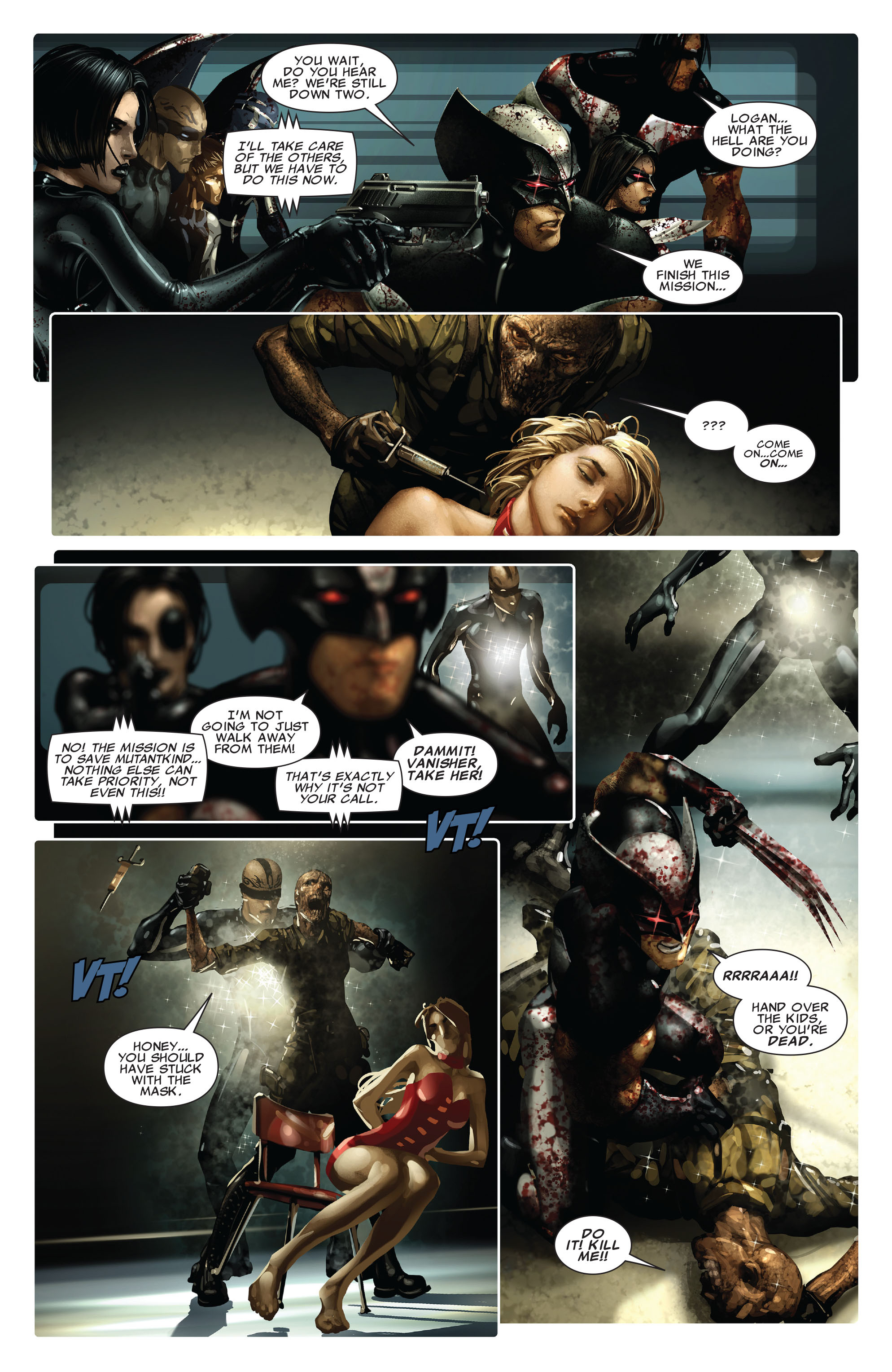 Read online X-Force (2008) comic -  Issue #13 - 21