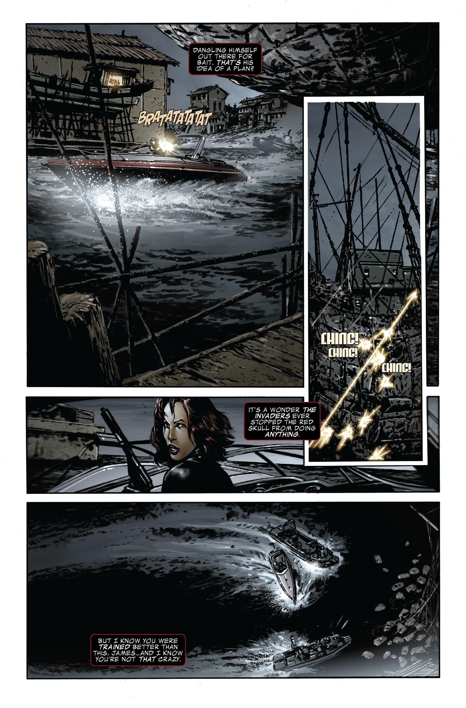 Read online Captain America (2005) comic -  Issue #47 - 11