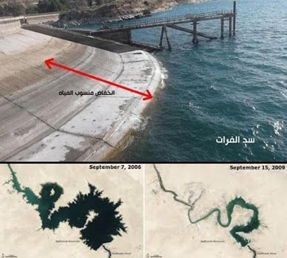 NASA: Sungai Eufrat Mulai Mengering, Nabi Muhammad Benar Soal Tanda Kiamat