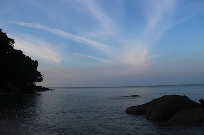 Jalan masuk menuju Mercusuar Tanjung Datu