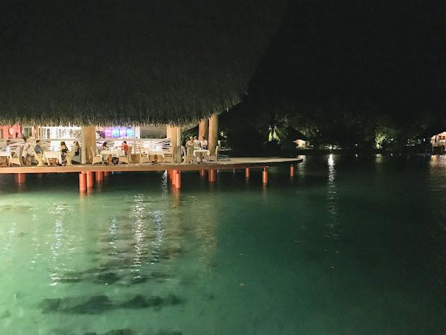 晚餐|Le Tipanie Restaurant , 大溪地 Tahiti Bora Bora Le Meridien