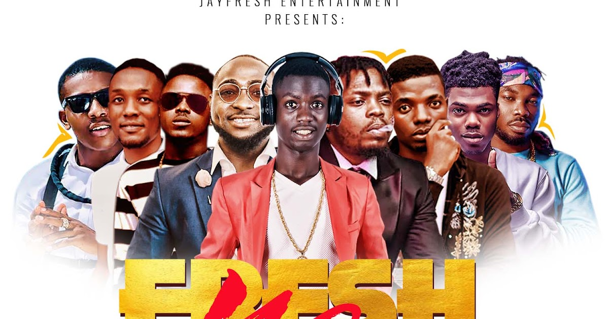 Mixtape: Dj Jayfresh - Fresh Mix Vol 1 - REPORT MUSIC