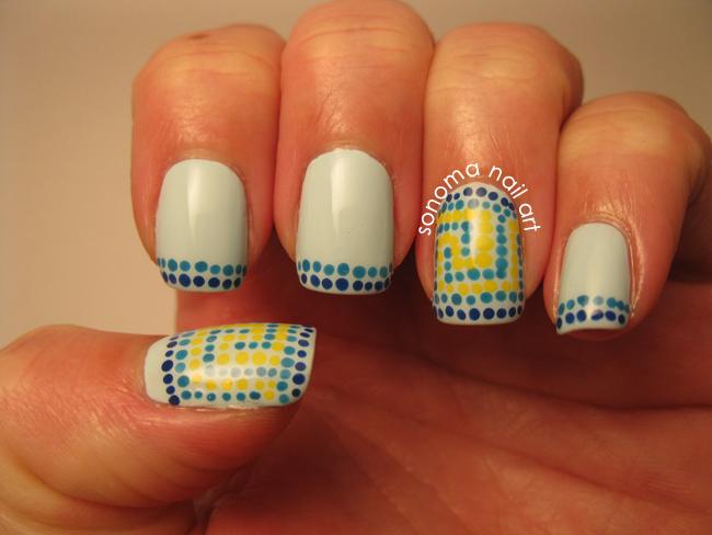 Sonoma Nail Art It S All Greek Key To Me
