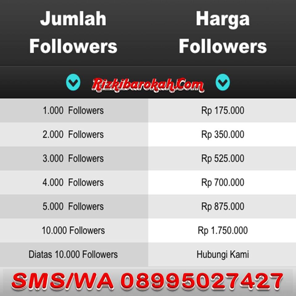 Order Followers Instagram via Rizkibarokah.Com SMS/WA ke 08995027427