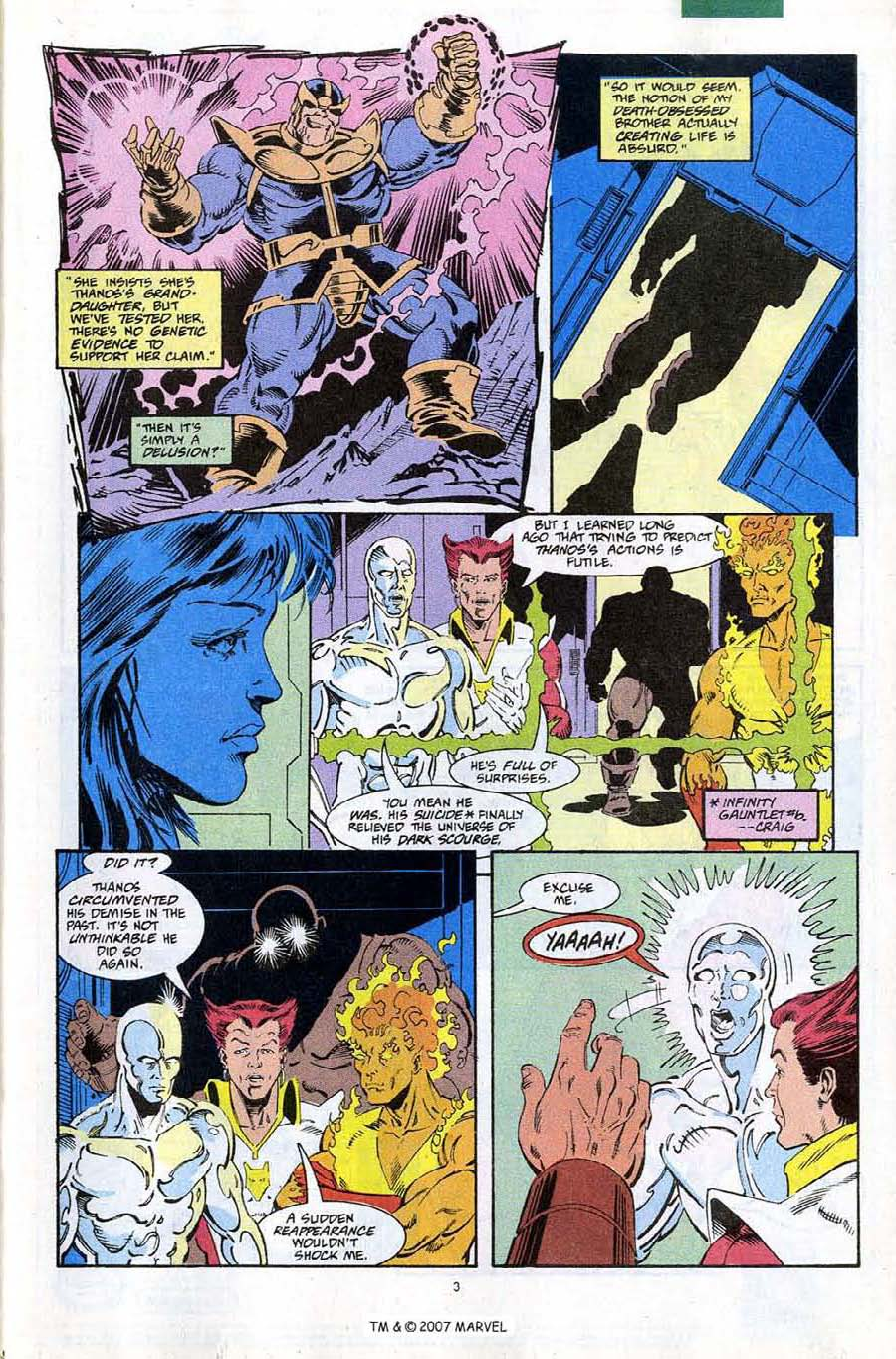 Read online Silver Surfer (1987) comic -  Issue #67 - 5